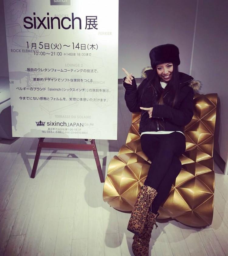 Showroom sixinch Japan